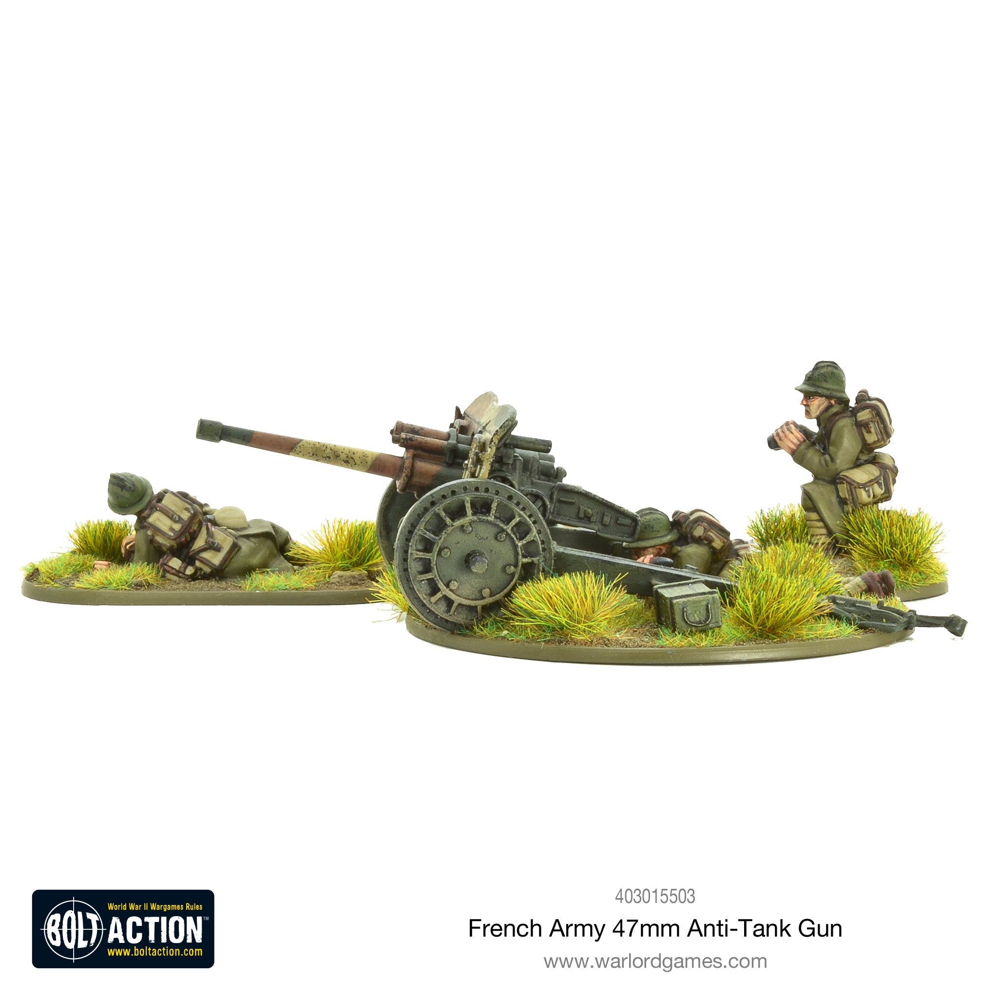 french army 47mm medium anti tank gun warlord games