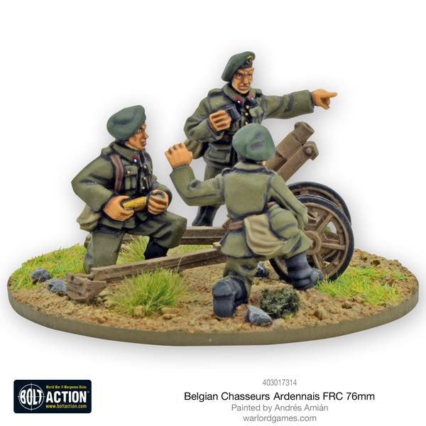 Belgian Army - Warlord Games