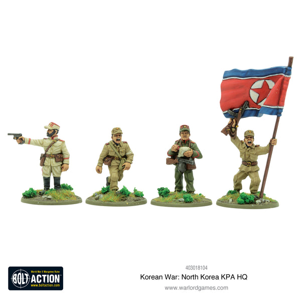 Korean War: North Korean KPA HQ
