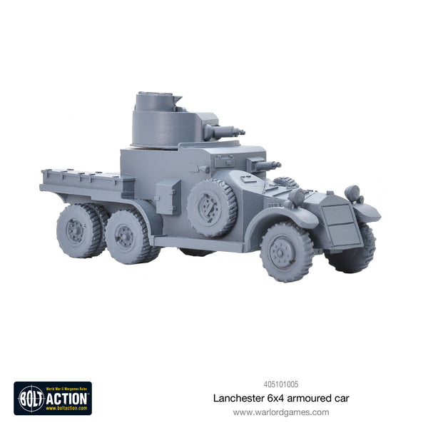 Lanchester 6x4 armoured car