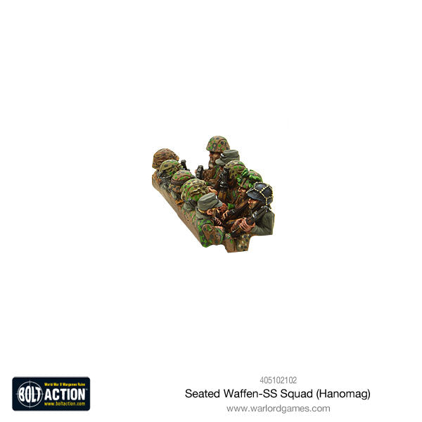 Seated Waffen-SS Squad (Hanomag)