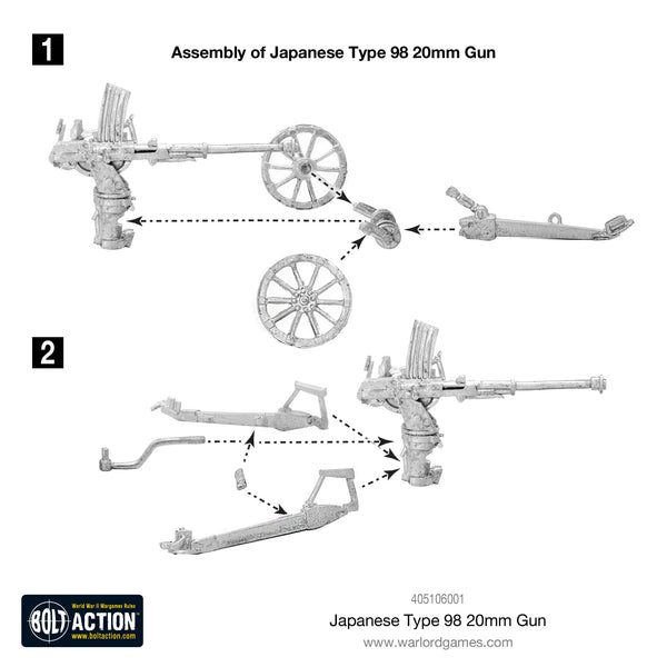 Japanese Type 98 20mm Gun