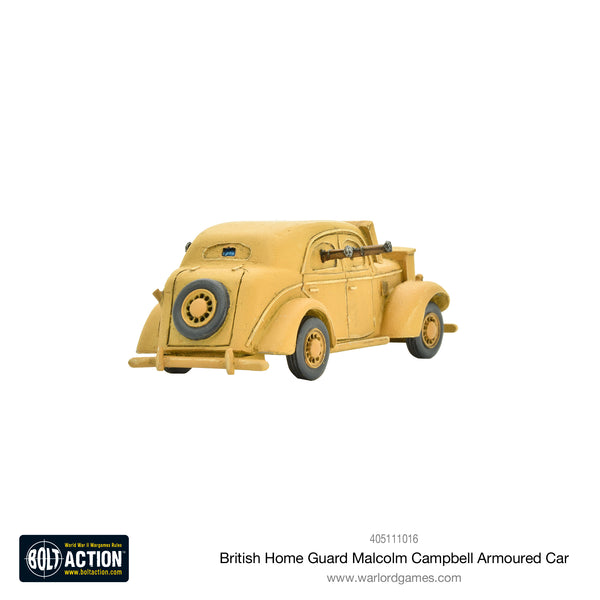 Home Guard 'Malcolm Campbell' armoured car
