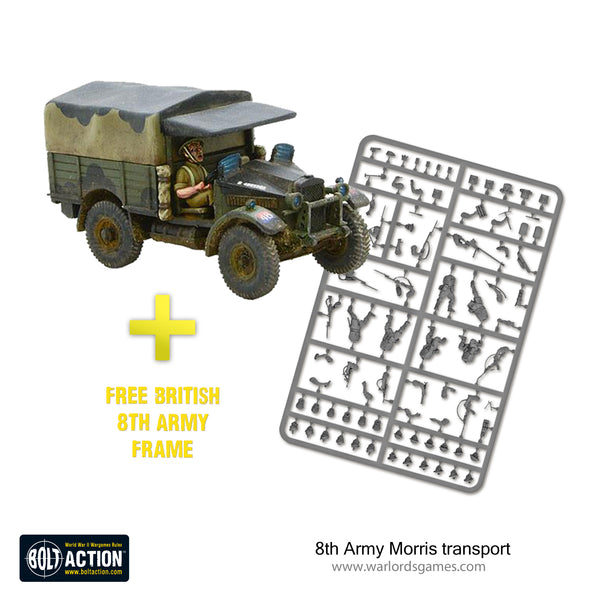 8th Army Morris transport