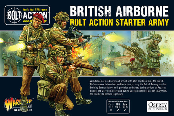 British Airborne: Bolt Action Starter Army -  Warlord Games