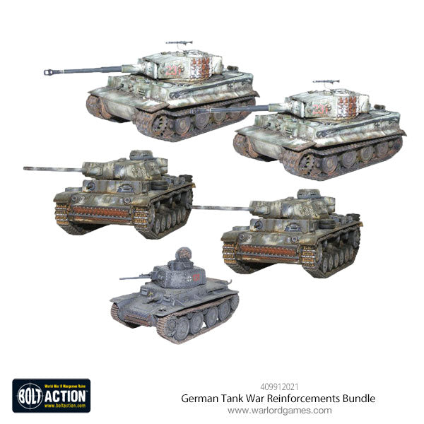 German Tank War Reinforcements Bundle