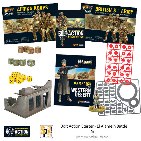 Bolt Action Starter - El Alamein Battle Set