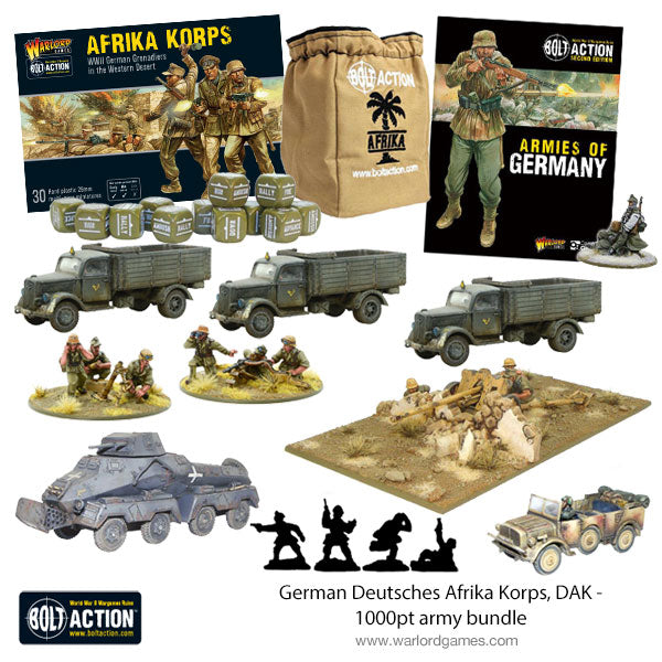German Deutsches Afrika Korps, DAK - 1000pt Starter army