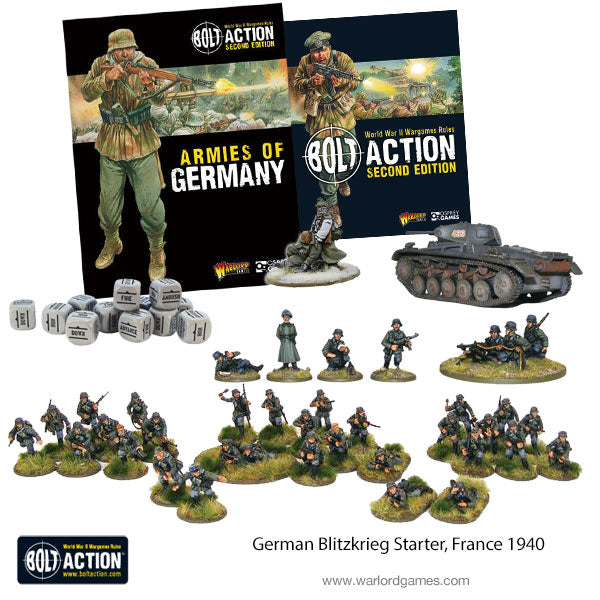 German Blitzkrieg Starter, France 1940