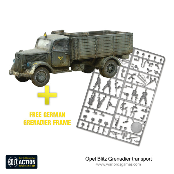 Opel Blitz Grenadier transport