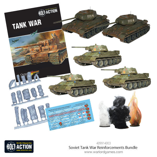 Soviet Tank War Reinforcements Bundle