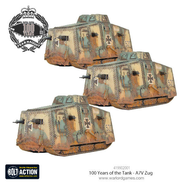 100 Years of the Tank - A7V Zug