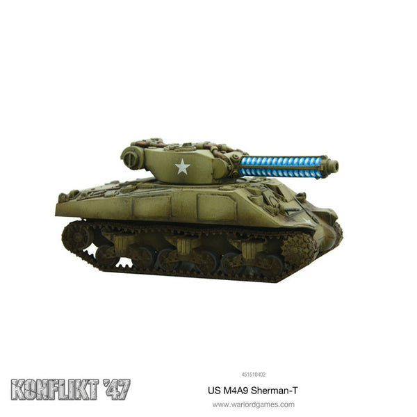 M4A9-T Sherman with Tesla Cannon
