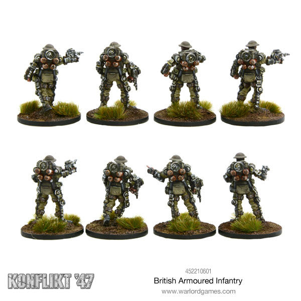 British Armoured Infantry Section