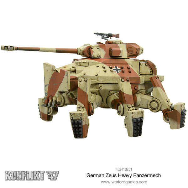 German Zeus Heavy Panzermech