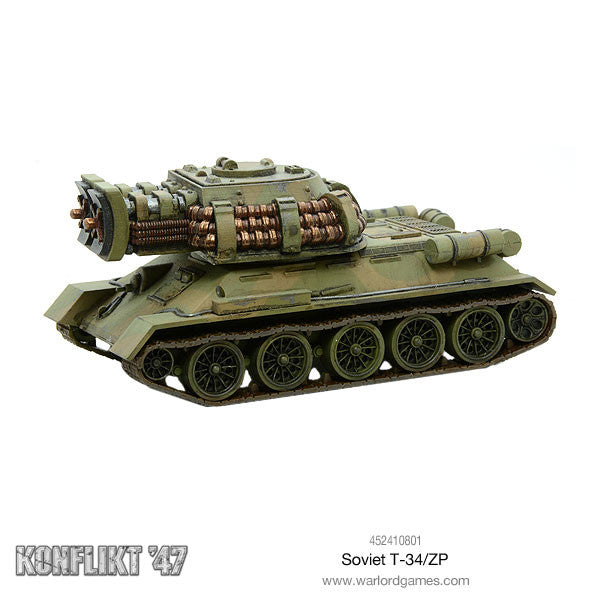 Soviet T34/ZP - Warlord Games