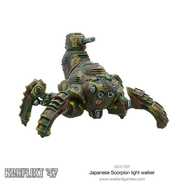 Japanese Scorpion light walker