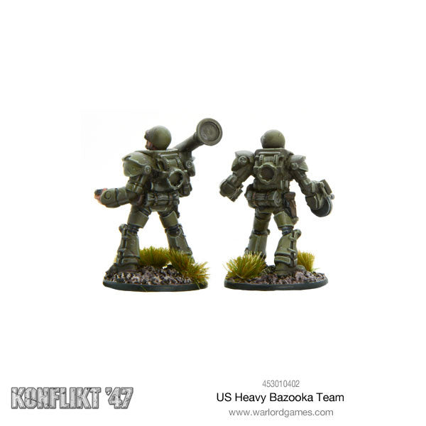 US Heavy bazooka team