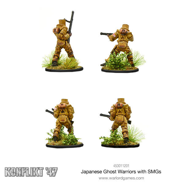 Japanese Ghost warriors with SMG