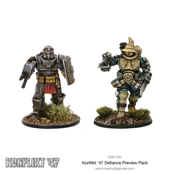 Konflikt '47 Defiance Preview Pack