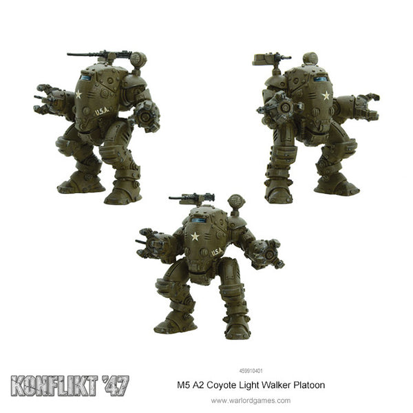 M5 A2 Coyote Light Walker Platoon