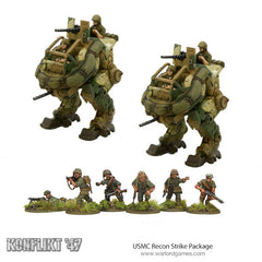 usmc recon strike package warlord games