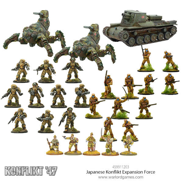 Konflikt '47 Japanese Expansion Force