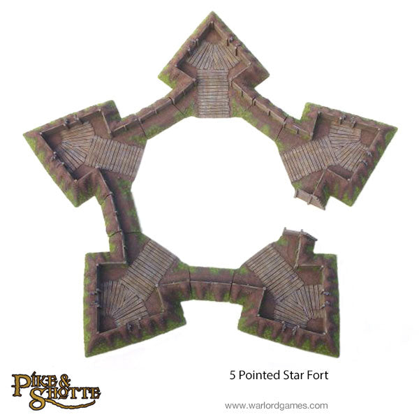5 Pointed Star Fort