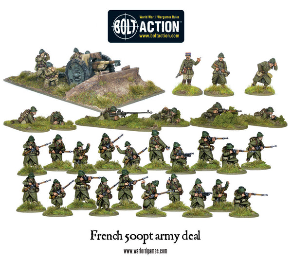 500pts French Army