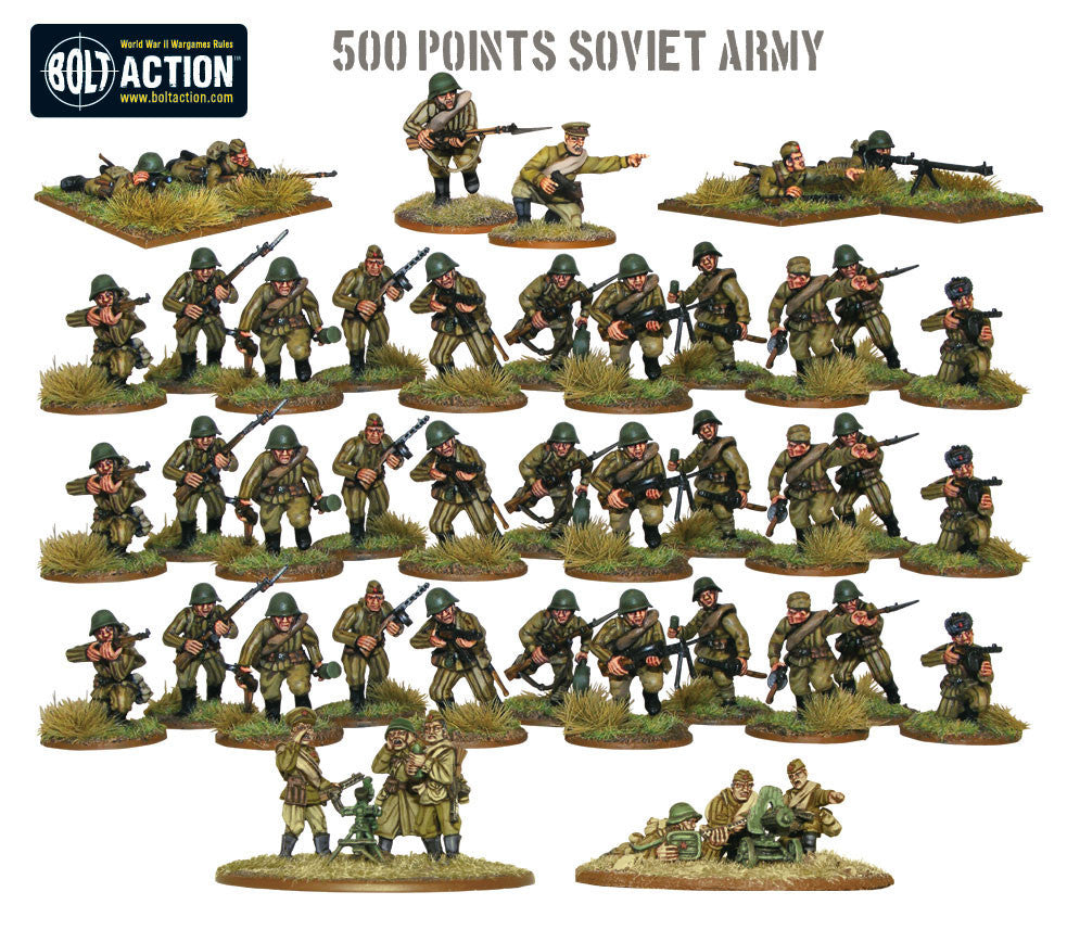 500pts Soviet Army Warlord Games