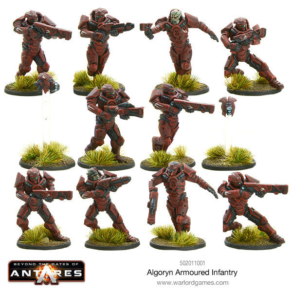 Algoryn Armoured Infantry