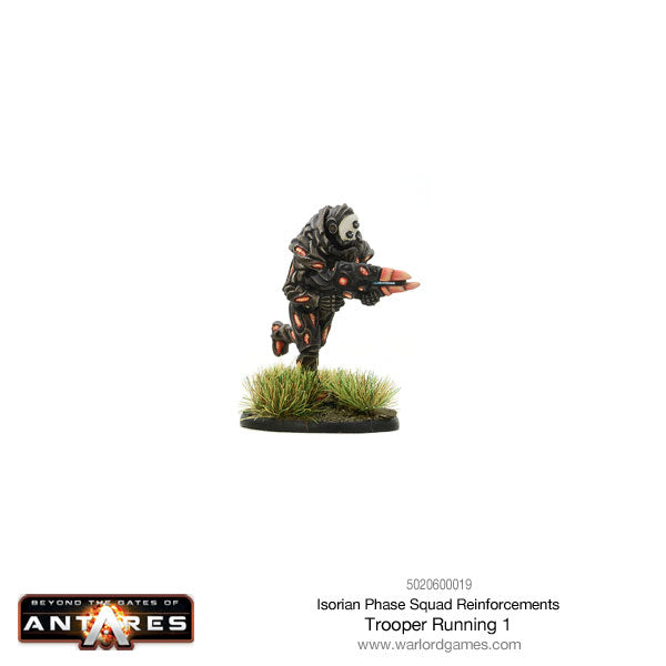 Isorian Phase Squad trooper running 1