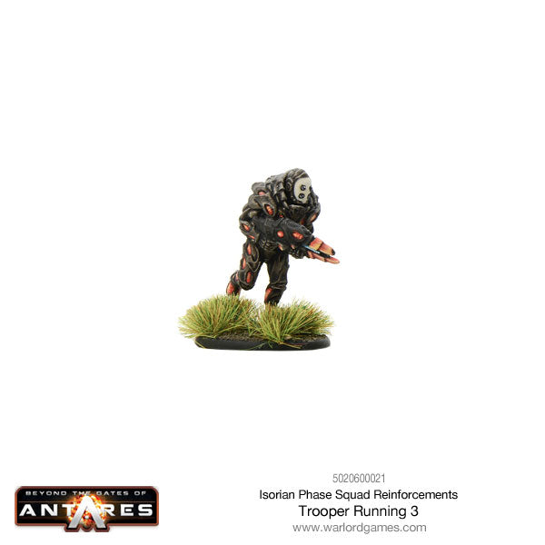 Isorian Phase Squad trooper running 3