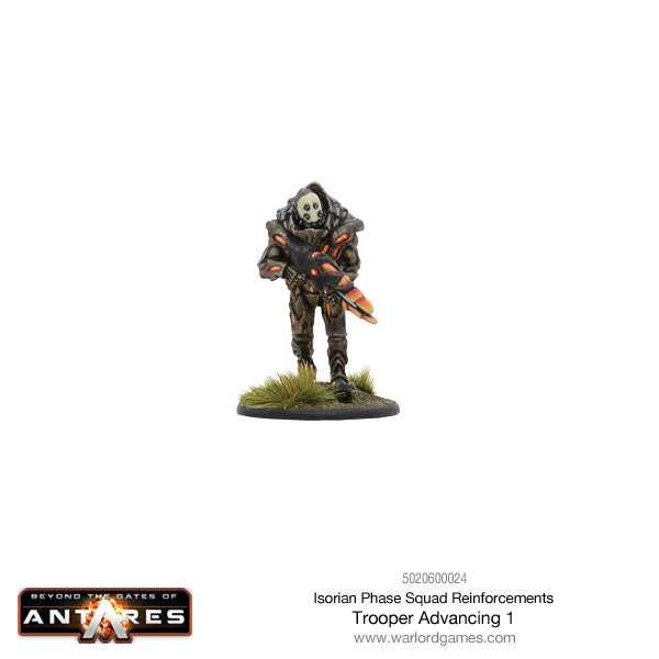 Isorian Phase Squad trooper advancing 1