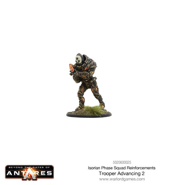 Isorian Phase Squad trooper advancing 2