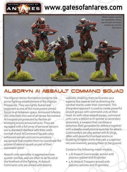 Algoryn Assault Command