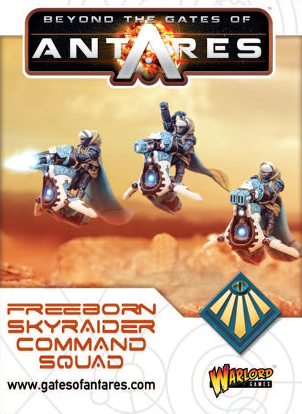 Freeborn Sky Raider command squad