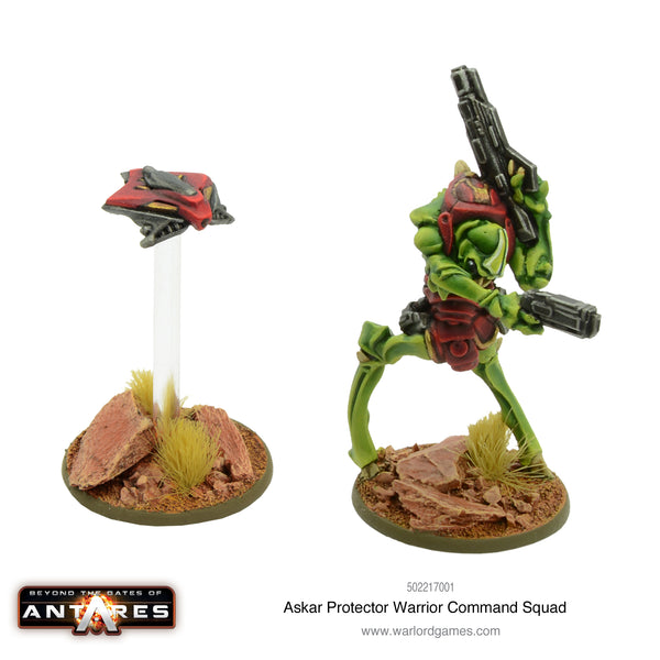 Askar Protector-Warrior command squad