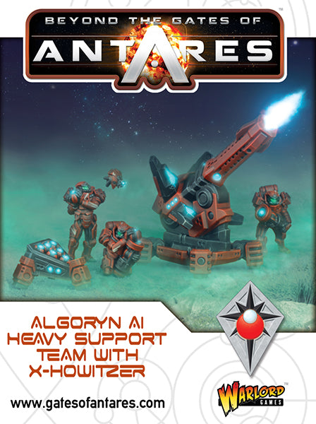 Algoryn AI Heavy Support Team with X-Howitzer