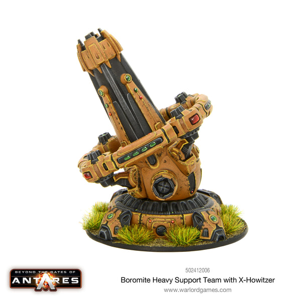 Boromite heavy support team with X-Howitzer