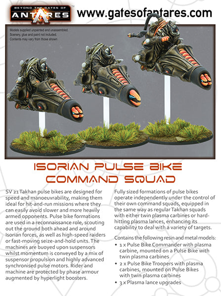 Isorian Pulse Bike Command Squad