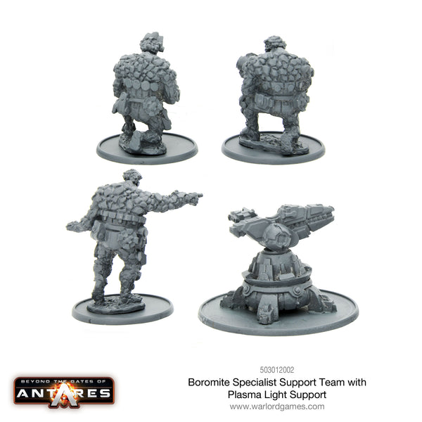 Boromite Specialist Support Team with Plasma Light Support