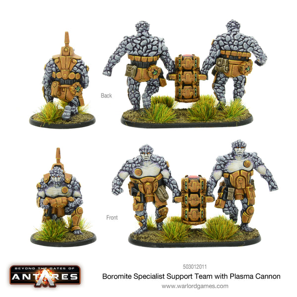 Boromite specialist support team with plasma cannon