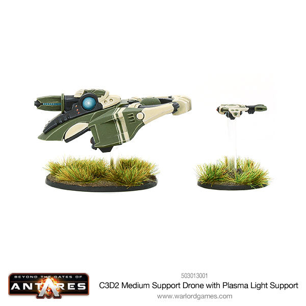 Concord C3D2 medium support drone with plasma light support