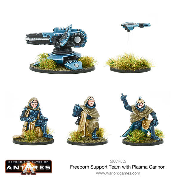 Freeborn Support Team with Plasma Cannon