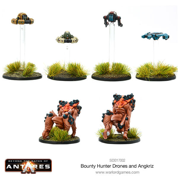 Bounty Hunter Drones and Angkriz