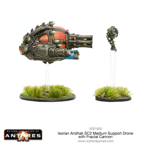 Isorian Andhak SC2 Medium Support Drone Fractal Cannon
