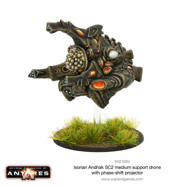 Isorian Andhak SC2 medium support drone with phase-shift projector