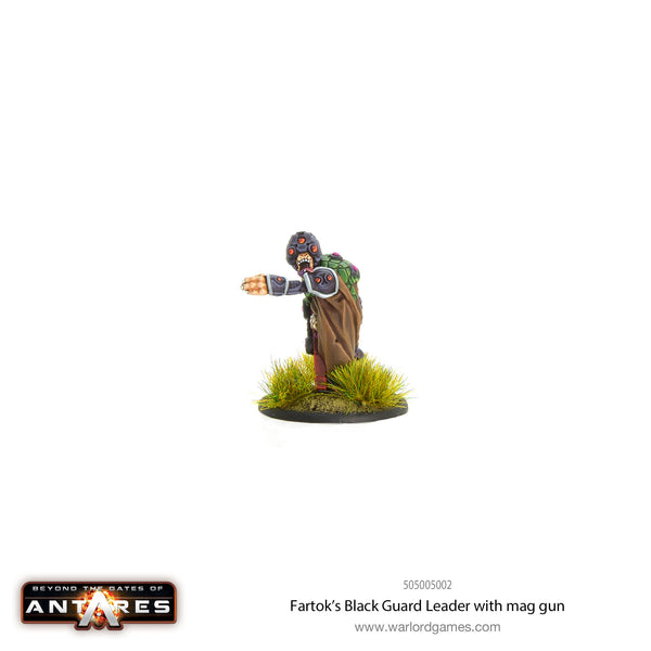 Fartok's Black Guard leader with mag gun