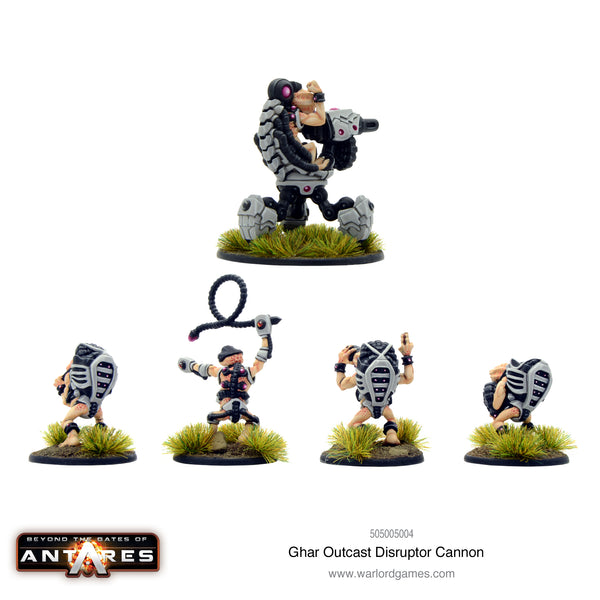 Ghar Outcast Disruptor Cannon